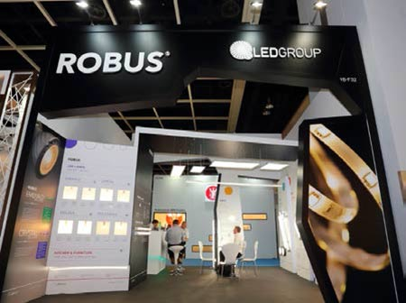 Robus booth