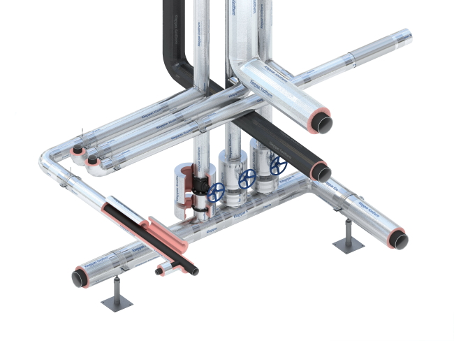 Kooltherm Insulated Pipe Support System