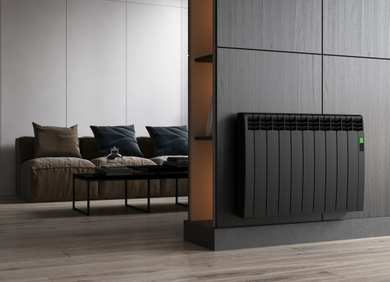 D Series radiator-graphite