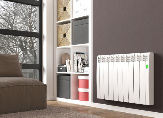 D Series radiator-white