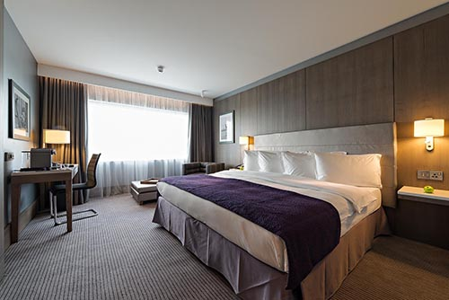 Deco rative finish for iconic hotel for Room decor job