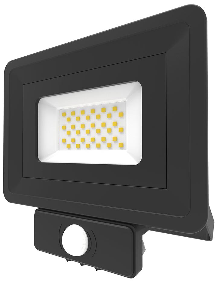Lumineux 401335-BL LED Flood SMD PIR 30W