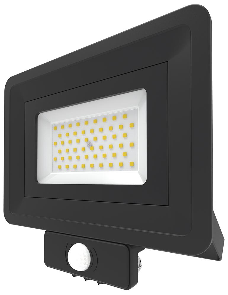 Lumineux 401336-BL LED Flood SMD PIR 50W