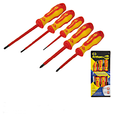 CK T4729 Screwdriver Set SL/PZ 5 Piece