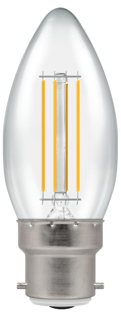 Crompton 7130 LED Lamp Candle 5W 2700K