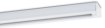 JCC Single circuit 2340mm track section - White
