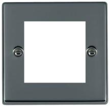 Hamilton Hartland Black Nickel 2 Module EuroFix Plate