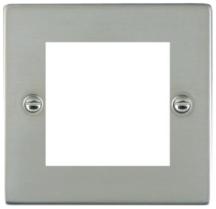 Hamilton Sheer Bright Stainless 2 Module EuroFix Plate
