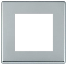 Hamilton Hartland CFX Bright Chrome 2 Module EuroFix Plate