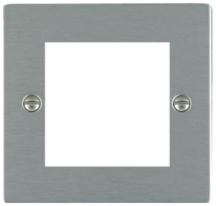 Hamilton Sheer Satin Stainless 2 Module EuroFix Plate