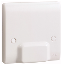 Eaton P345 Cable Outlet Plate DP 45A Whi