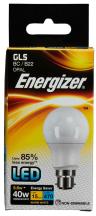 Energizer Lamp S8857 LED GLS B22 5.6W 2700K