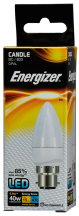 Energizer Lamp S8850 LED Candle B22 5.9W 2700K