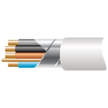 Prysmian FP2004C1.5 4 Core 1.5mm x 100m Fire Cable Available in Red, White
