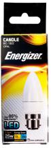 Energizer Lamp S8843 LED Candle B22 3.4W 2700K