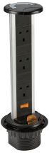 K/Bridge SK006 Pop Up Socket 3G 3x13A