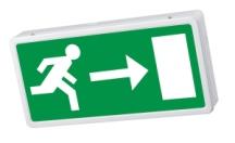 NVC NLE/3/LED/M3 LED Exit Box 3W
