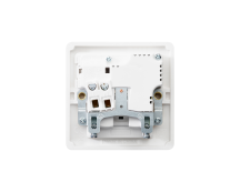 MK Base MB24354WHI 13A 1 Gang Double Pole Switched Socket