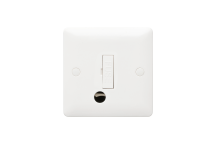 MK Base MB1031WHI 13A Unswitched Connection Unit Flex Outlet