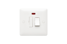 MK Base MB1042WHI 13A Switched Connection Unit + Neon