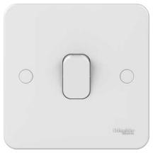 Schneider GGBL1012 Plate Switch 1 Gang 2 Way 10AX