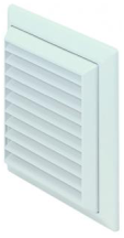 Domus 4904W Louvred Grille 100mm Whi