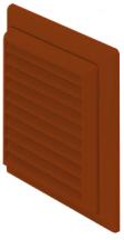 Domus F5904T Lvre Grille 125mm Terra