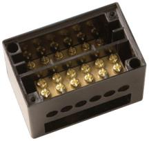 BG 4100DP Junction Box DP 3Way 100A Brn