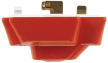 Klik P64AXR Red 4 Pin Plug c/w Cord Grip 57x35x44mm 6A