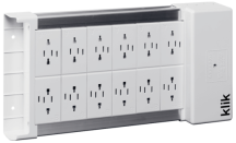 Klik KLDS12 12 Outlet Lighting Distribution Box
