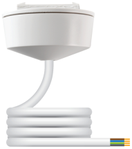 Klik CR64AX/2.0 White 4 Pin Pre-Wired Plug-In Ceiling Rose 2m 6A