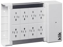 Klik KLDS8 8 Outlet Lighting Distribution Box