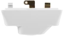 Klik P22 White 3 Pin Plug 57x25x25mm 6A