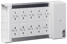 Klik KLDS10 10 Outlet Lighting Distribution Box