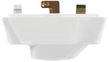 Klik P64AX White 4 Pin Plug c/w Cord Grip 57x35x44mm 6A