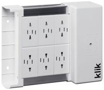 Klik KLDS6 6 Outlet Lighting Distribution Box