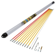 CK Tools MightRod PRO 10M Cable Rod Standard Set