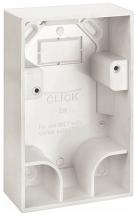 Click PRW218 Pattress 35mm Whi