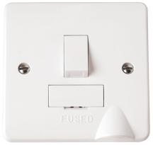 Click CMA051 Connection Unit Switched & Flex Outlet 13A