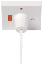 Click PRW210 Ceiling Switch 45A Whi