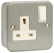 Click CL035 Socket 1G DP Switched 13A