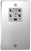 Deta 8171CHW Shaver Socket Dual Ch