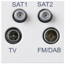 Deta S1440 Quadplexer Module White