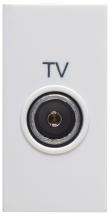 Deta S1442 Fem Co-ax TV Module Whi