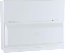 CIRC Y5612SMET Consumer Unt 12 Way White Zintec