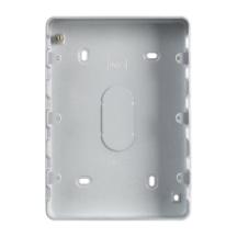 MK GRID PLUS K8895ALM 12 Gang  Metalclad Plus Grid Mounting Box 40mm