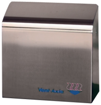 Vent Axia 2000ST 20101440 Prepdry Stainless Steel Hand Dryer 2kW