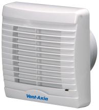 Vent Axia 251710 VA100XHP Fan 155 x 155mm White