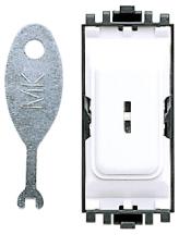 MK GRID PLUS K4917 1 Way DP Secret Key Switch 20A