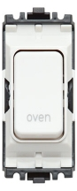 MK K4896OVWHI Grid Switch Oven